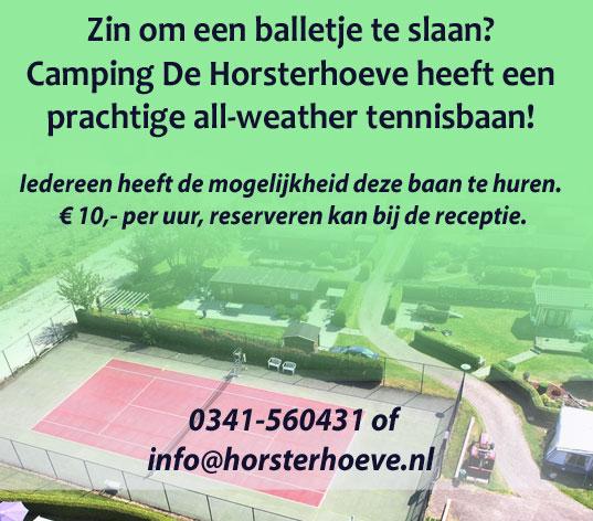 Tennisbaan Horsterhoeve
